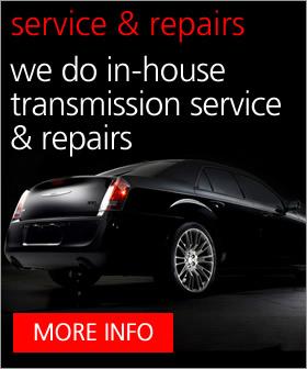 Chrysler Transmissions Service & Rebuild